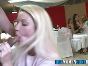 Bj amateur facialized at party