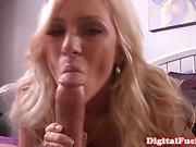 Dazzling blonde goddess homemade sexvideo
