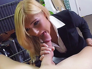 Milf has a very bad day that ends very good when she gets her pussy fucked