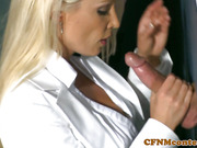 Cfnm babes sucking dick with Diana Doll