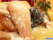 Scarlet Richie showered in bukake