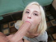 Teen Piper Perri goes to town on big dick
