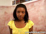 Naughty ebony girlfriend