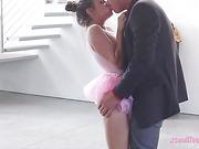 Teen ballerina Cassidy Klein hard fucked