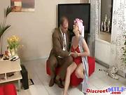 Housekeeping MILF Love Sucking Cock