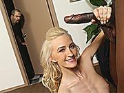 Skylar Green Having Interracial Sex In Front Of Her Daddy