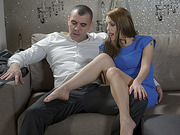 Hot beautiful Dominica Phoenix gets thrust from behind