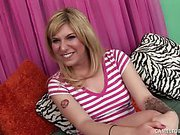 Hottie Jackie Avalon Gets Creampied!