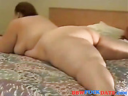 Black guy with big dick fuck a fat white woman