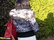Lovers film sex outdoors and in shower