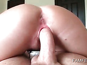 Lusty ex-girlfriend gets tight cunt nailed hard in POV