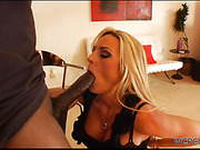 Blonde cougar loves to get fucked from behind