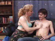 Rita Partners Up With David To Enjoy Her Hairy Pussy
