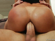 Slutty Francesca gets throat fucked and spread wide by stud