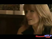 Mature cougar get licked and fucked