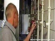 A horny technician
