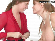 Darla Crane and Maddy Oreilly share cock
