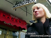 Czech slut Laura ripped hard for money