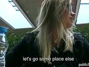 Cute Czech slut Violette ripped for cash