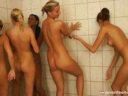 Six lesbian girls