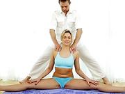Damn sexy Mia Malkova fucked after yoga