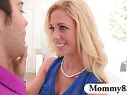 Teen always shares her boyfriends with her MILF stepmom