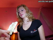 Amateur Maya Angel banged in hotel room for some cash