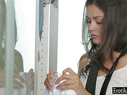 Allie Haze makes passionate love with BF