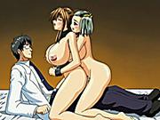 Hentai shemale threesome gangbanged