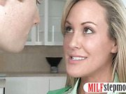 MILF Brandi Love teach sex to Madison Chandler and her BF