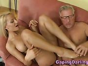 Big ass babe fingered