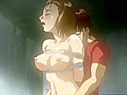 Bondage Japanese hentai gets punish her wetpussy with bigdick